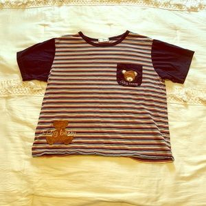 Big Berry striped t shirt
